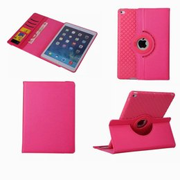 Wholesale Covers Para Ipad - Case for Apple ipad 6   air 2 PU leather multifunctional flip stand detachable soft TPU back case rotate Cover shell coque para