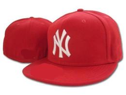 Wholesale New York Hip Hop Caps - 2017 new New York Fitted Hats for men women sports hip hop mens bones sun hats