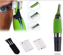 Wholesale Triple Razor Wholesale - New Green Men Shaver Micro Touch Magic Max Portable Face Body Razor Bikini Line Hair Trimmer Men'S Razor