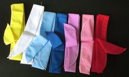 Wholesale Wholesale White Headbands - 50Pcs Wholesale Factory Summer Ice Scarf Super Cool Cooling Headband cool Ice towel cold water neck cooler cool scarf Neck Cooler