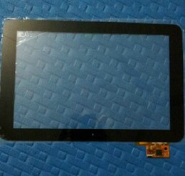 "Wholesale Hkc Tablets - Wholesale- Black White New 10.1"" Icoo ICOU10 HKC X106 Tablet touch screen panel 300-L4096A-C00 B00 Digitizer Glass Sensor Replacement"