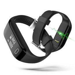 Wholesale Wholesale Russian Rings - H3 wristband smart Bluetooth hand ring SPORTS BRACELET waterproof heart rate Bracelet step sleep health monitoring swim Bracelet for samsung