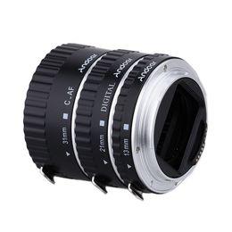 Wholesale Eos 5d - Metal TTL Auto Focus AF Macro Extension Tube Ring for Canon EOS 60D 5D II 550D CANON EF-S Lens