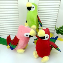 Wholesale Stuffed Parrot Toys - 1Pc Kids Unisex Cute Plush Colorful Parrot Soft Toys Animal Dear Stuffed Doll Baby Children Christmas Decoration Birthday Gifts