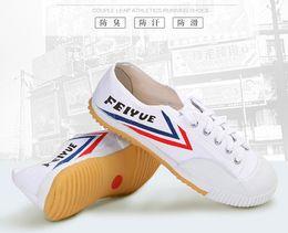 Comode scarpe da ginnastica per bambini moda scarpe Scarpe Arti marziali Wushu Sports Training Scarpe da ginnastica taglia 31-37 tela bambino da i bambini allenano l'arte fornitori