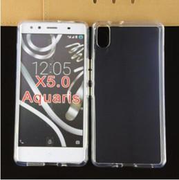Wholesale Blu Cover Case - BLU QUATTRO BQ Aquaris X5 Plus Phone Cover Transparent Clear TPU Case BLU X5 play Crystal Soft TPU Gel Case For Aquaris E5 4G M4.5 M5.5 M5