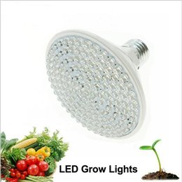 Wholesale Led Lights For Aquarium Plants - LED Grow Light AC110v-220V 2W 5W 7W E27 Red Blue LED Plant Growth Light for Indoor Plants or Aquarium.