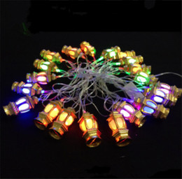 2019 lanterna chinesa luzes de natal Novo AC110V 4 M Lanterna Chinesa RGB Piscando Led Cordas Luzes De Natal 20 Leds Para Decoração Do Casamento Do Feriado desconto lanterna chinesa luzes de natal
