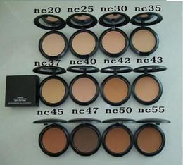 Wholesale New Powder Plus Foundation - Free Shipping MAKEUP NEW Studio fix powder plus foundation 15g ( 6 pcs lot)