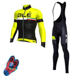 Wholesale full wash - Team Ale radfahren kleidung langarm radfahren jersey dunne quick-dry mountainbike kleidung atmungsaktive fahrradsportkleidung