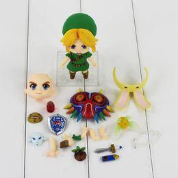 Wholesale Doll Masks - 10 cm Legend About zelda Link 553 Major Advertisment Mask 3D Ver PVC Shapes Model Toys Dolls Gifts for Children