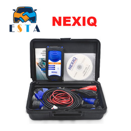 Wholesale Xtool Truck - 2017 New arrival nexiq truck diagnostic tool nexiq 125032 usb link with AAA++ QUALITY NEXIQ software dhl free shipping