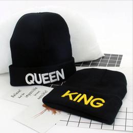 rei suave Desconto REI RAINHA chapéu de Alta Qualidade Beanie Ski Cap Carta de ouro Turnê Crânio Trecho Caps Macio Cuff Beanie Malha Hiphop chapéus de inverno Quente YYA721