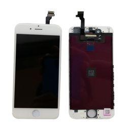 мобильные телефоны wiko Скидка ЖК-дисплей Сенсорный экран Полный с полной заменой рамки для iPhone 6 6plus Grade A +++ DHL EMS бесплатно LC001