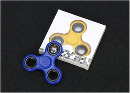 Wholesale Hybrid Toys - 6 Color Tri-Spinner Fidget Hand Spinner For Rotation Time Long Hybrid eramic Bearing Anti Stress Toys Learning &Educational Toy