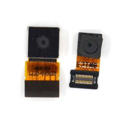 Wholesale Camera Xperia - For Sony xperia C3 S55T S55U D2502 D2533 Back Camera Big Flex Cable For Sony xperia C3 Small Front camera parts