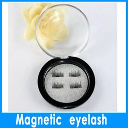 Wholesale Magnet Stones - 1PCS new HOT magnet false eyelash suction stone mascara magnetic magnetic buckle without glue three-dimensional multi-layer natural thick