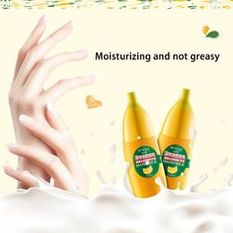 Wholesale Hand Skin Care - Wholesale- 40g BIOAQUA Banana Mi Hand Cream Moisturizing Nourish Anti-chapping Hand Care Lotions Handcream Skin Defender TF free shipping