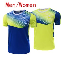 Wholesale Ladies Short Skirt Suits - New badminton suit short sleeved sport shirt, shorts and tennis wear breathable quick dry sport shirt ladies skirt