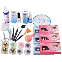kit complet pour extensions de cils Promotion Outils de greffage de cils avec étui Cosmetic Set us6 Hot Professional False Eye Lash Extension de cils Kit complet Colle Set