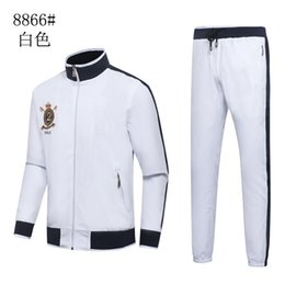 Wholesale Hoodies Sweat Pants - 2017 Men's Hoodies and Sweatshirts Sportswear Man Polo Jacket pants Jogging Jogger Sets Turtleneck Sports Tracksuits Sweat Suits