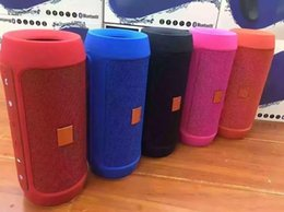 Wholesale Mp3 Can Speakers - Bluetooth Speakers Nice Sound Charge 2+ Bluetooth Outdoor speaker phone call Mini Speaker Waterproof Speakers Can Be Used As Power Bank