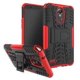 Wholesale Bracket Fitting - For LG Stylus 3 Case Rugged Combo Hybrid Armor Bracket Impact Holster Cover Case For LG Stylus 3   Stylo 3