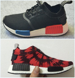 Wholesale Boot Footwear - Wholesale 2017 NEW NMD Boost Children's Athletic Shoes,Kids Casual Sneakers Footwear,Discount cheap Baby Sports Running Shoes Boots