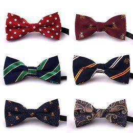 Wholesale Tuxedo Plaid Boys - NEW Children Baby Boys Bowtie neckwear Imitation Silk Formal Tuxedo Bow Tie Fashion Kids Printed Wedding Necktie accessories 79 color