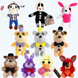 Wholesale S4 Teddy - XS NEW Teddy Bear's Five Nights At Midnight Harem Five Nights At Freddy 's4 Plush Toys