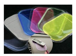 Wholesale Silicone Magic Mat - Colourful Silicone Anti Slip Mat Non Slip Car Dashboard Sticky Pad Mat Powerful Silica Gel Magic Car Sticky Pad