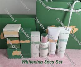 Wholesale Eyes Concealer - LA Soft Cream Magic Eye Cream Essence White Concealer 8pcs Set With Bag Famous Brand DHL shiping