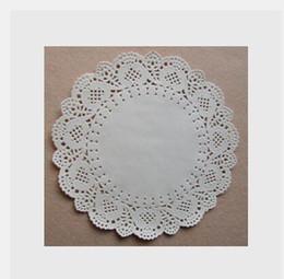 doyleys de papel Rebajas Al por mayor-200 Vintage 9.5 pulgadas Doilies de papel / Doyleys Lace Crafts CH5042707