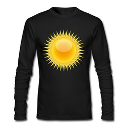 Descuento hombre camiseta Sun Shining impresión camisa masculina de los muchachos 2017 ropa informal al aire libre de la ropa del vestir al por mayor desde fabricantes