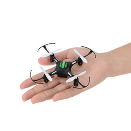 Wholesale Hot Rc - Hot hot toys!2.4G 4CH 6 Axis gyro11cm Quadcopter Drone Headless Mode 1 Key Return RTF JJRC H8 Mini Toys RC helicopter