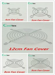 Wholesale Case Fan Cover - Wholesale- 100% New Fan Cover Shield Iron Net Protection Net Dust Filter Protective Grille For Dc&ac Fans Cooling