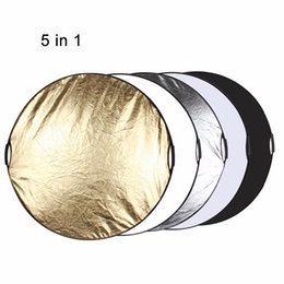 Wholesale White Painting Board - PULUZ 5 in 1(Silver Translucent Gold White Black) Multi Collapsible Folding Photo Studio Reflector Board Panels
