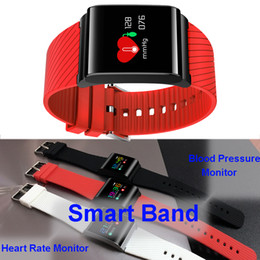 Wholesale Outdoor Color Display - X9-Pro Sports Smart Band Blood Pressure Heart Rate Monitor Color Display Fitness Tracker Warterproof Bluetooth Wristband for iOS Android LG