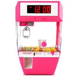 Wholesale Carnival Candy - Wholesale-Free Shipping 1Piece Retro Carnival Fun Candy Grabber Alarm Clock   Catcher Alarm Clock