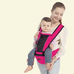 Wholesale Baby Sling Back - luxury hipseat ergonomic baby carrier 360 mochila portabebe baby sling backpack Kangaroos for children baby wrap 0-36 months