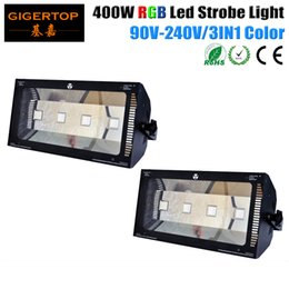 Wholesale China Wholesale Manufacturer - China Stage Light Manufacturer 2 X 400W RGB Led Strobe Light DMX512 RGB LED Stage Bar Light Professional Party Disco DJ Show