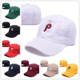 Wholesale Ny Caps Snapbacks - Hot Sell NY Men's Hat Baseball Los Angeles Philadelphia '47 Brand Navy Clean Up Home Pirates Adjustable Hat Mix order Caps