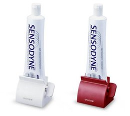Wholesale Bathroom Set Accessories Rolling Tube Tooth Paste Squeezer Toothpaste Dispenser Tooth Brush Toothbrush Holder