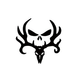Wholesale Deer Hunting Decals - 2017 Hot Sale Car Stying Cool Graphics Deer Hunt Hunting Punisher Decal Sticker Car Decal Window Jdm
