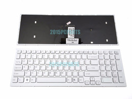 Wholesale New Vpc - New For Sony VAIO VPCEB VPC-EB Keyboard US White 148793281