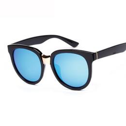 Gafas de sol de forma redonda al por mayor online-Venta al por mayor- 2016 hombres retro forma redonda gafas de sol polarizadas gafas mujeres gafas de sol