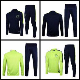 Wholesale Club Sportswear - TOP LIGA MX 2017 18 Mexico CHIVAS Guadalajara Training Suits Club America Green sportswear camisetas de futbol Tracksuit Soccer Jerseys