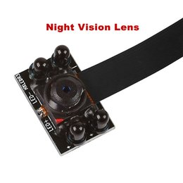 Wholesale Video Access - 1080P HD WiFi Spy Camera Wireless Hidden Video Camera Module DIY Night Vision Spy Surveillance IP Cam Wide Angle P2P Recorder S06