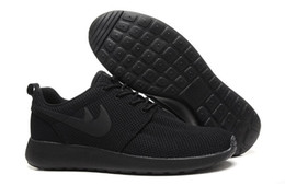 Wholesale Black Fashion London - 2017 London Olympic Trainers Running Shoes For Men Women Sports Classical All Black Mens Fashion Sport Free Run Shoes Runs Sneakers 36-45