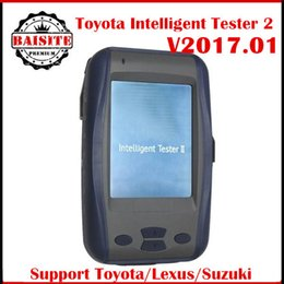 Wholesale Intelligent Tester Toyota - High quality latest version 2017.01 Toyota DENSO Intelligent Tester 2 Toyota IT2 Tester2 Auto Diagnostic Tool IT2 toyota With Oscilloscope